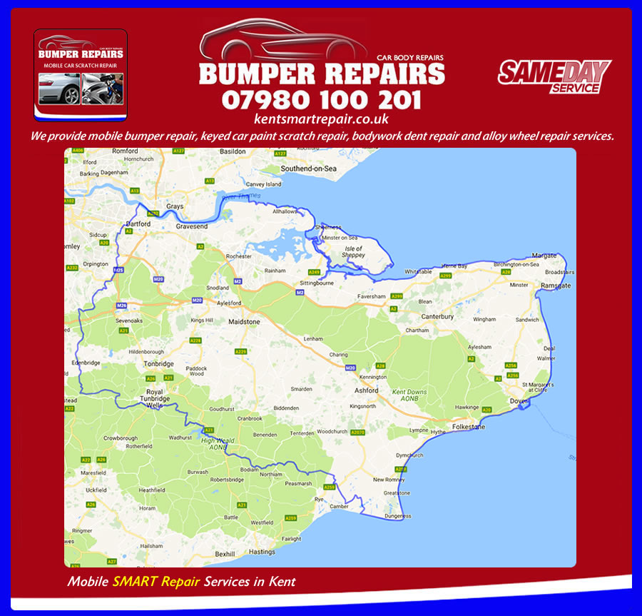 smart repair in Seal Chart TN14 kent